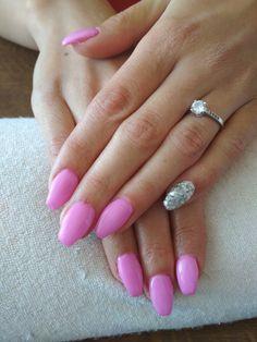 purple gel, silver glitter