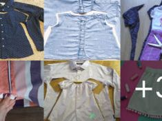 Aprende a reutilizar tu ropa para hacer ropa de niñas paso a paso Textiles, Husband, Upcycle, Tools, Cat Cushion, Quilt Patterns, Stretch Bands, How To Sew, Mouths