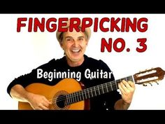 Guitar Finger Picking Basics How to -Tutorial 3 Music Chords, Music Guitar, Playing Guitar, Acoustic Guitar, Ukulele, Guitar Strumming, Fingerstyle Guitar, Black Electric Guitar, Electric Guitars