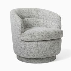 Viv Swivel Chair | West Elm