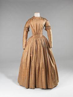 Afternoon Dress  1845  The Metropolitan Museum of Art