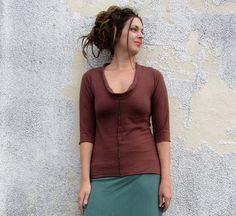 Organic Warrior Shirt light hemp/organic cotton by gaiaconceptions