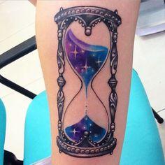 tatuagem ampulheta delicada - Pesquisa Google