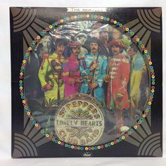 The Beatles Sgt. Peppers Lonely Hearts Club Band Picture LP Record SEAX-11840
