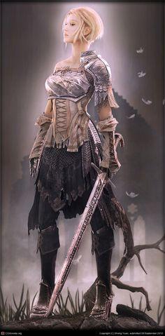 Jeanne d'Arc by Sheng Yuan