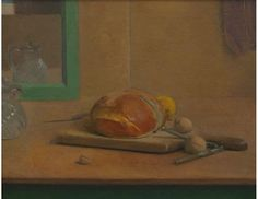 Lennart Anderson, Edwin Dickinson, Charles Hawthorne, William Merritt Chase: Still life Oil on canvas by Lennart Anderson