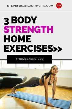 Are you looking for strength home workouts to tone your arm ,core & legs?Or you have painful bad knees and high-impact exercise just isn't in your future…at all? TRY THESE EASY FULL BODY WORKOUTS 👍 Workouts to do at home,workout at home,workout for women,home workouts,motivated to workout,strength,belly fat,strength training workout for beginners, 10 minutes home workouts for beginners,weight loss motivation,low impact cardio workouts,