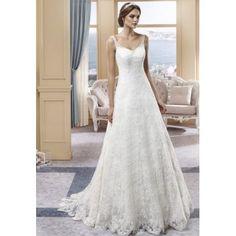 31c487de4241 Maria Mar - vestito da sposa a-line in pizzo con scollo v