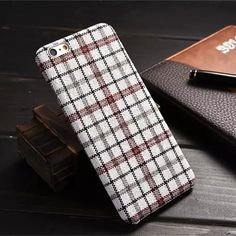 Fine Grid Anti-Shatter Phone Case Cover for iPhone 6S & iPhone 6S Plus