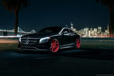 Mercedes Benz S63 AMG Coupe for Avant Garde Wheels