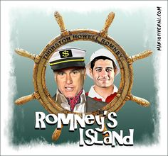Thurston Howell Romney ~ Conservative writer David Brooks  nailed this one.