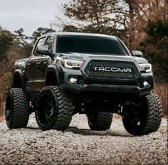 Toyota Tacoma Lifted, Toyota Trucks, Diesel Trucks, Cool Trucks, Pickup Trucks, Lifted Ford, Toyota 4runner, Truck Rims, Tacoma Truck