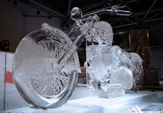 40 Beautiful Ice Sculptures from Ice Festivals around the world | Read full article: http://webneel.com/ice-sculptures | more http://webneel.com/sculpture-works | Follow us www.pinterest.com/webneel