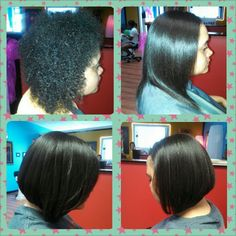Before & After Keratin Treatments @G G's House of Beauty 706-229-3339