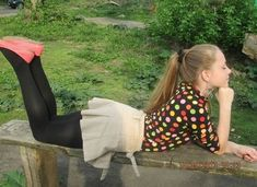 Sexy pantyhose Girl black tights blonde, ponytail, outside Girly Girl Outfits, Cute Little Girl Dresses, Cute Young Girl, Cute Outfits, Teenage Outfits, Preteen Girls Fashion, Young Girl Fashion, Tween Girls, Little Girl Leggings