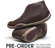 Aalto Chukka Boot Chestnut Brown Leather - Women's Casual Shoes for Plantar Fasciitis #chukka