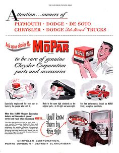 Everyone wants Mopar