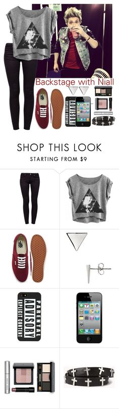 """""""Backstage with Niall"""" by elise-22 ❤ liked on Polyvore featuring Vans, Rebecca Minkoff, AT&T, Bobbi Brown Cosmetics and Forever 21"""