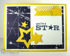 Be the Star, DOstamper STARS, Maritime DSP, Dawn Olchefske, Stampin' Up, Cindy Techlin, Stampin An Ink Trail