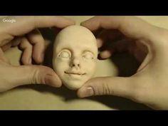 Наталья Филинова роспись лица куклы - YouTube