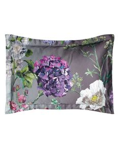 Standard Floral Sateen Sham by Designers Guild at Neiman Marcus.