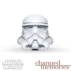 Charmed Memories Stormtrooper Charm Sterling Silver