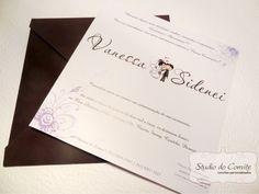 Convite Vanessa e Sidenei