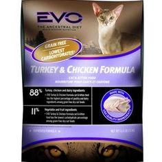 http://cheune.com/yummy EVO Cat Food 15.4 lbs