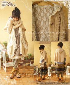 Разноцветные вязалки: Вязание в стиле mori girl