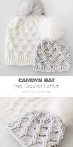 Beanie Pattern Free, Crochet Beanie Pattern, Chunky Crochet Hat, Crocheted Hats, Crochet Adult Hat, Girl Crochet Hat, Newborn Crochet Hats, Chunky Hat Pattern, Crochet Toddler Hat