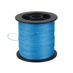 Rose Kuli® Strong PE Fiber Braided Fishing Line 328YD 4 Ropes 40LB Blue *** Check out this great product.