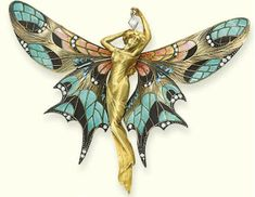 for the love of unique, handmade jewellery from South Africa : The Art Nouveau Period (1880 to 1915 :) by Giselle