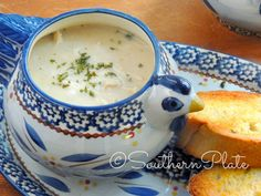 Simply Delicious Chicken & Rice Soup – and my lack of fashion sense ~ https://www.southernplate.com