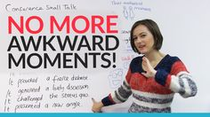 Business meeting & conference SMALL TALK – How to avoid that awkward mom...