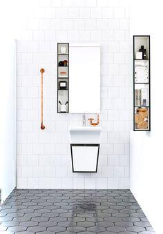 Luxury Black and White Bathroom Ideas 60