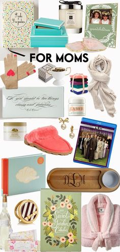 GIFT GUIDE FOR MOMS / GIFTS FOR MOM