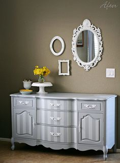 L-O-V-E this refurbished dresser