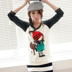 Buy 'BAIMOMO – Raglan-Sleeve Printed Top' at YesStyle.com plus more Taiwan items and get Free International Shipping on qualifying orders.