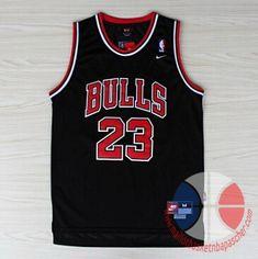 check out 81712 60dfe Michael Jordan Chicago Bulls Rare NBA 23 Jersey Michael Jordan Jersey Black  Basketball Jersey All Stitched and Sewn Jersey Any Size S - XXL on Etsy