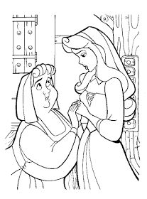Disney coloring page House Colouring Pages, Coloring Book Art, Cartoon Coloring Pages, Adult Coloring Pages, Disney Princess Coloring Pages, Disney Princess Colors, Disney Colors, Sleeping Beauty Coloring Pages, Disney Stained Glass