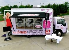 Mobile nail spa. My next business venture!!!