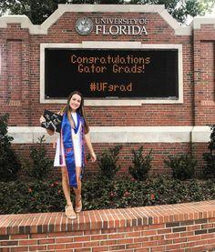 Florida Gatora, Grad Pics, Graduation, College, Lettering, University, Moving On, Drawing Letters, College Graduation