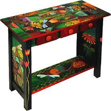 Worry about antique pine furniture? Piggeries Furniture has a big collection of this.