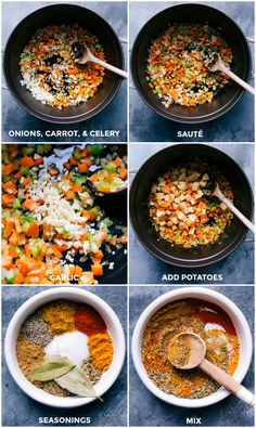 This thick and hearty Lentil Soup is packed with good-for-you ingredients -- tons of veggies and lentils! Recipe via chelseasmessyapron #recipe #red #vegan #easy #healthy #curry #recipeeasy #lentil #soup Lentil Soup Recipes, Healthy Soup Recipes, Delicious Dinner Recipes, Cooking Recipes, Vegan Recipes, Chili Recipes, French Lentil Soup, French Lentils, Recipes
