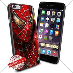 Spiderman WADE7476 iPhone 6 4.7 inch Case Protection Black Rubber Cover Protector WADE CASE http://www.amazon.com/dp/B015AKQA8K/ref=cm_sw_r_pi_dp_SW3nwb0ZZJ6Z8
