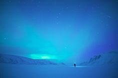 Nighttime Self-Portraits Under the Northern Lights Reveal a Vast Universe in the Sky - My Modern Met
