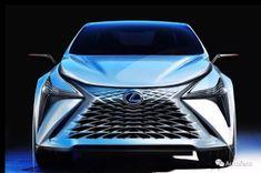Lexus LF-1 Limitless Concept sketch