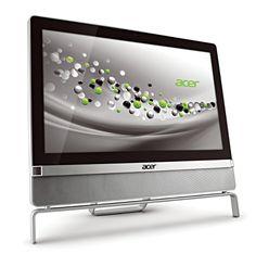Desligadas completamente del teclado y el mítico mouse, en contraste con una combinación elegante, moderna, sobria y agradable llegan los prototipos Acer Aspire Z3801 y Z5801.