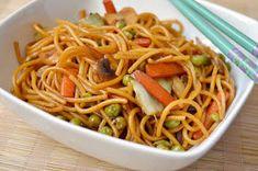 Citromhab: Kínai tészta Spaghetti, Ethnic Recipes, Food, Essen, Meals, Yemek, Noodle, Eten