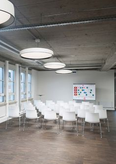 office lighting solutions. Contemporary Pendant Lights, Lighting, Light Fitting, Office Lighting Solutions, Fittings, Modern Offices, Design, Solutions